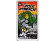 Part No: 57895pb017  Name: Glass for Window 1 x 4 x 6 with 'THE BRICK SEPARATOR' Movie Poster Pattern Both Sides (Stickers) - Set 10232