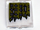 Part No: 60601pb004  Name: Glass for Window 1 x 2 x 2 with Torn Curtains with Holes Left and Right Pattern (Sticker) - Set 10228