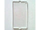 Part No: 60602  Name: Glass for Window 1 x 2 x 3 Flat Front