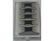 Part No: 60602pb09  Name: Glass for Window 1 x 2 x 3 with Vent Intake Pattern (Sticker) - Set 70721