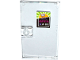 Part No: 60616pb026  Name: Door 1 x 4 x 6 with Stud Handle with Shopping Cart / Trolley, 'OPEN' and '8-20' Pattern (Sticker) - Set 41118