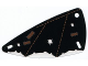 Part No: x66px1  Name: Plastic Triangle 6 x 12 Wing with Patched Cloth Pattern