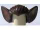 Part No: 10301pb01  Name: Minifigure, Hair Bat Ears and Medium Dark Flesh Inner Ear Pattern