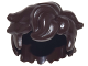 Part No: 25412  Name: Minifig, Hair Tousled and Sticking Out on Both Sides