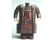 Part No: 40250cx3  Name: Body Giant, HP Hagrid, Shirt and Belt and Coat Pattern - with Arms and Light Flesh Moveable Hands