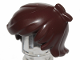 Part No: 40938  Name: Minifigure, Hair Short Tousled with 2 Locks on Left Side