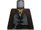 Part No: 973pb1139  Name: Torso LotR Coat with Evenstar Pendant, Double Button Shirt and Belt Pattern (Aragorn)