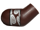 Part No: 982pb043  Name: Arm, Right with Silver Band with Swirls on Upper Arm Pattern