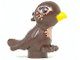 Part No: 98388pb05  Name: Bird, Friends / Elves with Bright Light Orange Beak and Copper Chest and Eyes Pattern