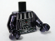 Part No: 973pb0516c02  Name: Torso SW Darth Vader Death Star Pattern / Chrome Black Arms / Chrome Black Hands