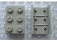 Part No: Mx1632  Name: Modulex Channel Sliding, Top Slide 2 x 3 (with studs)