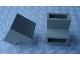 Part No: Mx2401B  Name: Modulex Brick, Angle 2L, 45 degree, 1:1 slope