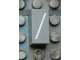 Part No: Mx1021Apb02  Name: Modulex Tile 1 x 2 with White  '/' Pattern