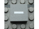 Part No: Mx1022Apb064  Name: Modulex Tile 2 x 2 with White '-' Pattern