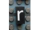 Part No: Mx1021Apb09  Name: Modulex Tile 1 x 2 with White 'r' Pattern