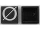 Part No: Mx1022Apb231  Name: Modulex Tile 2 x 2 with White 'Ø' Pattern