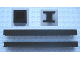 Part No: MxVBrick  Name: Modulex Brick Holder Vertical 1 x 1 x 13