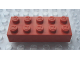 Part No: Mx1152M  Name: Modulex Brick 2 x 5 (M on studs)