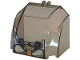 Part No: 30633pb04  Name: Windscreen 4 x 6 x 4 Canopy with Hinge and Res-Q Pattern