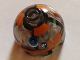 Part No: 553pb024  Name: Brick, Round 2 x 2 Dome Top with Orange Pattern (R3-A2)