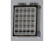Part No: 87552pb002  Name: Panel 1 x 2 x 2 with Side Supports - Hollow Studs with Solar Panel Pattern (Sticker) - Set 3366