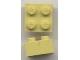 Part No: Mx1122M  Name: Modulex Brick 2 x 2 (M on studs)