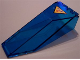 Part No: 2507pb06  Name: Windscreen 10 x 4 x 2 1/3 Canopy with Res-Q on Yellow Triangle Pattern (Sticker)