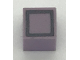 Part No: Mx1011Apb63  Name: Modulex Tile 1 x 1 with Black Square Pattern