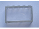 Part No: Mx1553pb02  Name: Modulex Window 1 x 5 x 3 with Gray Border Pattern