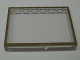 Part No: Mx1575pb04  Name: Modulex Window 1 x 7 x 5 with Brown Border Pattern