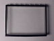 Part No: Mx1586pb03  Name: Modulex Window 1 x 8 x 6 with Black Border Pattern
