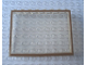 Part No: Mx1586pb04  Name: Modulex Window 1 x 8 x 6 with Brown Border Pattern