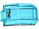 Part No: 11289pb003  Name: Windscreen 4 x 4 x 4 2/3 with Handle with Flight Controls Pattern (Sticker) - Set 70170