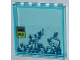 Part No: 59349pb056  Name: Panel 1 x 6 x 5 with Ivy Plants, 'TEMP.' and '09.37' Pattern (Sticker) - Set 6860