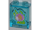 Part No: 87552pb013  Name: Panel 1 x 2 x 2 with Side Supports - Hollow Studs with Purple Fish with Yellow Stripes Pattern (Sticker) - Set 3188
