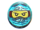 Part No: 98138pb053  Name: Tile, Round 1 x 1 with Ninjago Trapped Nya Pattern