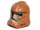 Part No: 11217pb12  Name: Minifigure, Headgear Helmet SW Clone Trooper with Tan and Dark Tan Camouflage Pattern
