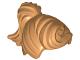 Part No: 13785  Name: Minifigure, Hair Female Ponytail and Fringe