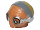 Part No: 24601pb01  Name: Minifigure, Head Modified SW Maz Kanata Pattern