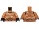 Part No: 973pb1831c01  Name: Torso SW Armor Camouflage Clone Trooper Pattern / Medium Dark Flesh Arms / Black Hands