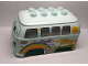 Part No: 94899pb01  Name: Duplo Car Body 8 Top Studs with Cars Fillmore Pattern