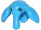 Part No: 13196pb01  Name: Minifigure, Head Modified SW Max Rebo