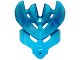 Part No: 19149pb01  Name: Bionicle Mask Protector with Marbled Trans-Dark Blue Pattern (Protector Mask of Water)