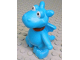 Part No: dupdragon01  Name: Duplo Dragon Small with Red Collar and Orange Spots (Stuffy)