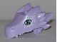 Part No: 24196pb07  Name: Dragon Head (Elves) Upper Jaw with Lavendar Eyes and Swirls Pattern (Cyclo)