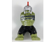 Part No: 10121c04pb01  Name: Body Giant, Hulk with Silver Helmet with Red Plume, White Alien Tattoos, Black Pants Pattern