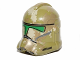 Part No: 11217pb08  Name: Minifigure, Headgear Helmet SW Clone Trooper with 41st Camouflage Pattern