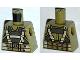 Part No: 973pb1346  Name: Torso Batman Body Armor with Suspenders Pattern