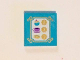 Part No: 3068bpb0994  Name: Tile 2 x 2 with Bakery Menu in Gold Frame with Swirls Pattern (Sticker) - Set 41101