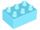 Part No: 87084  Name: Duplo, Brick 2 x 3
